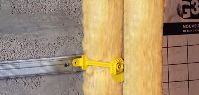 Comment isoler un mur avec 30 40cm de laine de verre 7 for Epaisseur laine de verre pour cloison placo