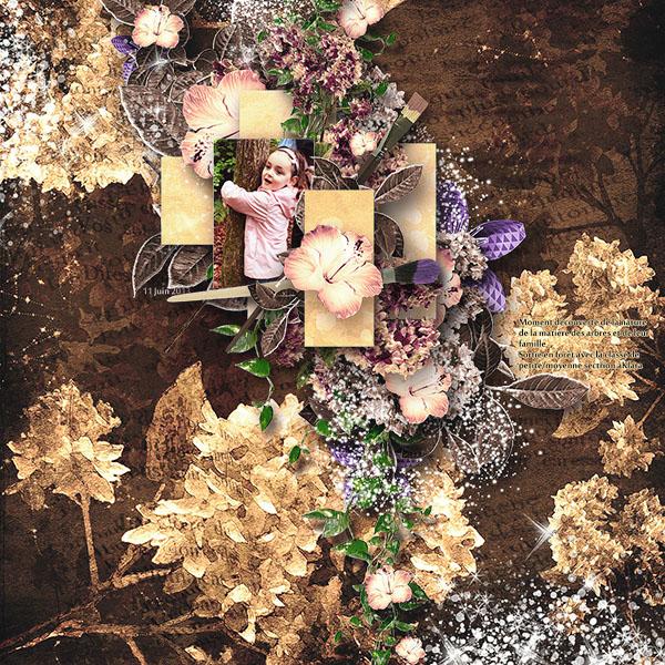 fleurs du mal kit simplette page annliz