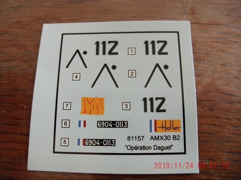 """Amx 30B2 """"Opération Daguet"""" Heller 1/35 Upgrade Ref 81157 Apdc0485-3eeb759"""