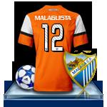 Camiseta Málaga CF para avatar 6-3f78174