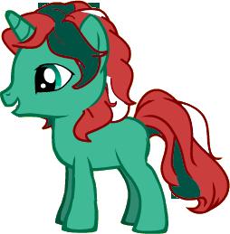 Dormin Teichi le coquelicot des mers - Licorne Pony-baby-412e317